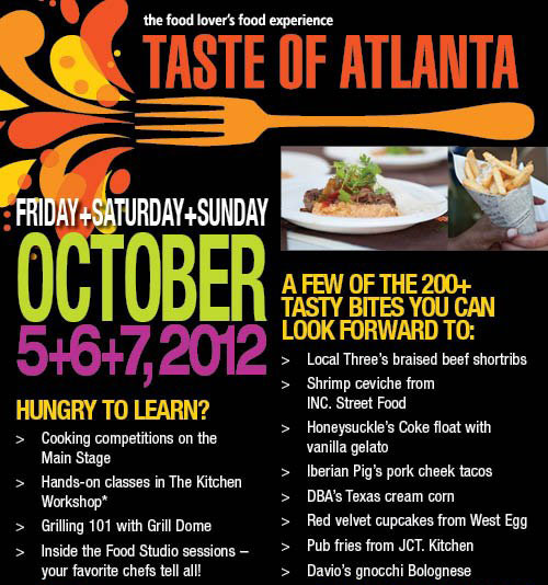Southern Food With a Story at Taste of Atlanta