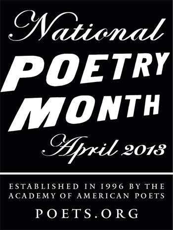 Participating in National Poetry Month
