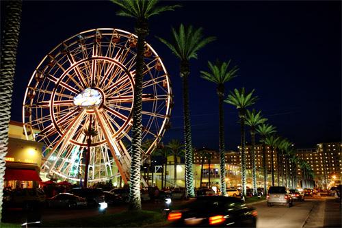 The Wharf Ferris Wheel Is Orange Beach S