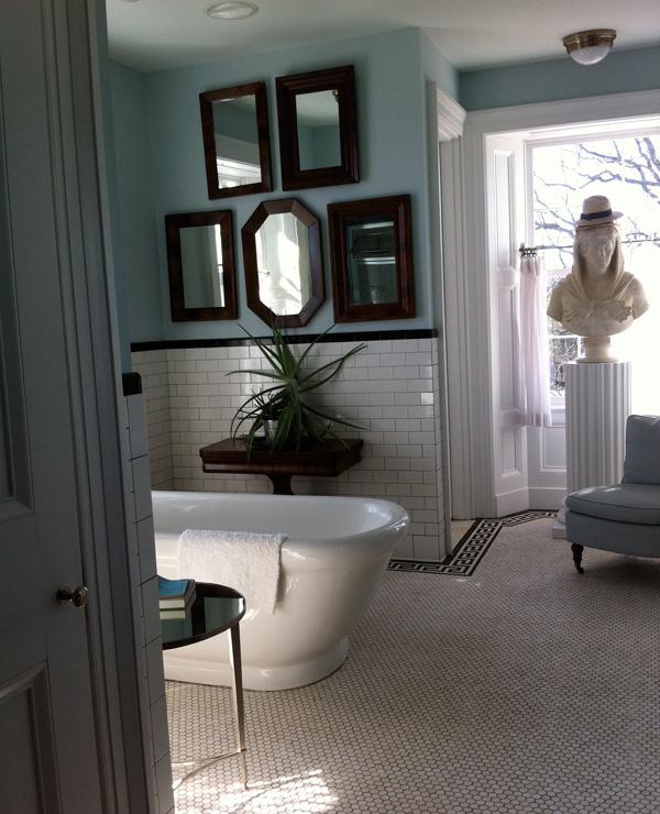 P. Allen Smith bathroom