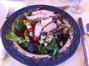 P. Allen Smith grilled chicken salad