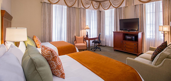 St. James Hotel room