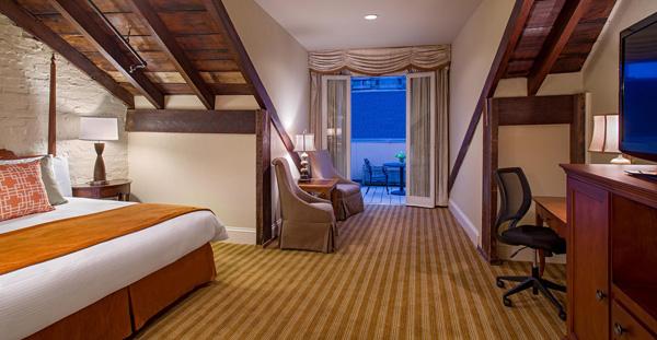 St. James Hotel suite