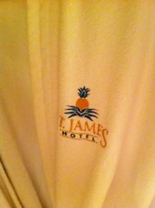 St. James Hotel robe