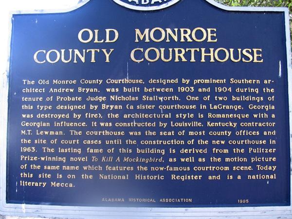 Monroevillecourthousemarker