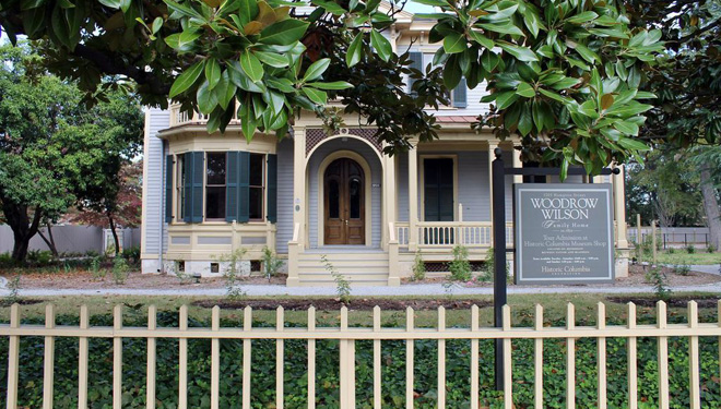 Woodrow Wilson Home Reopens to the Public