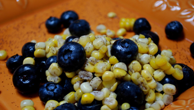 Corn and Blueberry Salad | Deep South Magazine – Southern Food ...