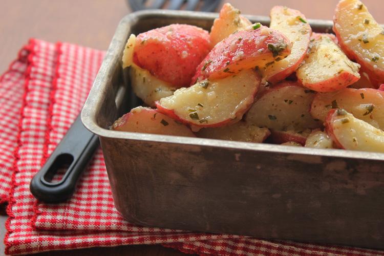 Potato Salad with Horseradish Mustard