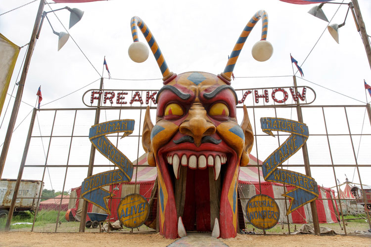 American Horror Story Freak Show Location Viewing Guide Deep