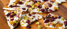 Spicy Ginger Moravian Cookie Bark