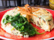 Spinach, Sundried Tomatoes & Goat Cheese Frittata