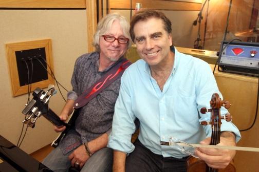 Robert McDuffie and Mike Mills-lr