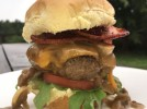 Beef Sliders with Jalapeno Bacon and Beer Sauce