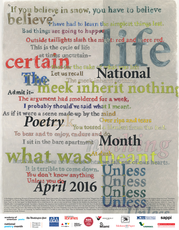 national poetry month 2016 poster