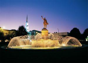 Lafayette Square in Lagrange